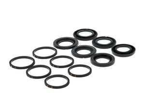 ES#3228817 - 143.33027 - Front Caliper Piston Rebuild Kit - Priced Each - Seals for servicing a Brembo 17Z caliper - Centric - Volkswagen Porsche