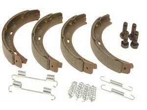 ES#3610410 - 1244200720 - Parking Brake Shoe Kit - Includes all hardware needed for installation - Meyle - Mercedes Benz