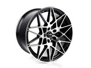 "ES#3610469 - 758-2sd12 - 19"" Style 758 (19x9.5, ET35, 5x120, 72.6CB) Machined Finish *Scratch And Dent* - 19x9.5"" ET35 72.6CB 5x120. Machined face with a black barrel. - Alzor - BMW"