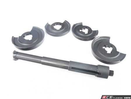 ES#3561366 - 007776SCH01B - Mercedes-Benz Coil Spring Compressor - This Schwaben spring compressor is necessary to safely remove the springs on most Mercedes-Benz vehicles. Conventional (external-type) compressors can not be used due to the confined space on these cars. - Schwaben - Mercedes Benz