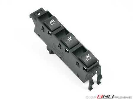 ES#167001 - 61316902183 - Window Switch - Driver's Side - Controls front, rear, and central window function - Genuine BMW - BMW