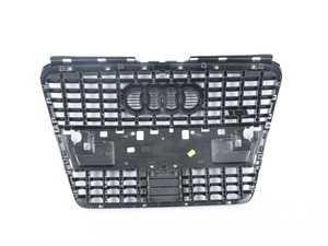 ES#383842 - 4E0853651AM1RR - S8 Grille Assembly - Platinum Grey - Includes the chrome Audi rings - Genuine Volkswagen Audi - Audi