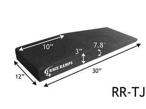 ES#3612047 - RRTJ - Race Ramp Trak-Jax Ramps - Trak-Jax Ramps, Composite Foam, 3,000 lb. Capacity, 30.10 in. Length, 12 in. Width, 3 in. Height, Pair - Race Ramps - Audi BMW Volkswagen Mercedes Benz MINI Porsche