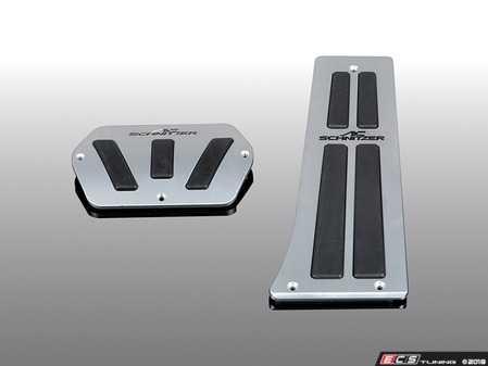 ES#3612433 - 352030320 - AC Schnitzer Aluminium Pedal Set - Automatics - Enhance the look of your interior - AC Schnitzer - MINI