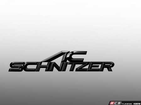 ES#3612446 - 5114101509 - AC Schnitzer Type Trunk Emblem Black (160x32mm) - Show off what you've got with a new emblem from AC Schnitzer - AC Schnitzer - BMW MINI