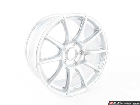 "ES#3612339 - SM101885ET35RSsd - 18x8.5"" ET35 Race Silver APEX SM-10 Wheel - *Scratch And Dent* - THIS IS JUST THE FRONT WHEEL - APEX Wheels - BMW"
