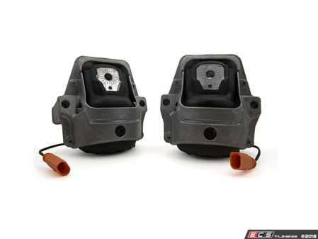 ES#3612476 - 034-509-0061KT -  Street Density Line Motor Mounts - Pair - Now manufactured with 45 durometer rubber, 034Motorsport's Street Density Mounts are the new standard in comfort and performance! - 034Motorsport - Audi