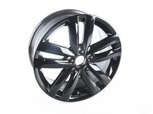 "ES#3497540 - 5C0601025CPAX1 - 17"" Bathurst - Priced Each - 17""x7"" ET54 5x112 - Gloss Black - Genuine Volkswagen Audi - Volkswagen"