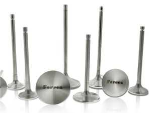 ES#3612527 - F2177P - Ferrea Performance Exhaust Valve (Stock Size) - Priced Each  - Rev higher, flow more, no worries - Give your engine the best performance possible with Ferrea's Performance engine valves! - Ferrea - Audi Volkswagen