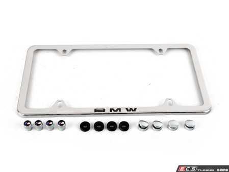 ES#3251512 - 82122456415 - BMW License Plate Frame - Priced Each - Plate frame for your BMW! - Genuine BMW - BMW