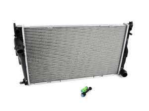 ES#3545370 - 3717 - Radiator - For Automatic Transmission  - Standard replacement radiator - CSF - BMW