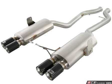 ES#2985583 - 49-36311-C - Cat Back Exhaust System - Mandrel-bent stainless steel with carbon fiber tips - AFE - BMW