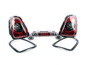 "ES#2673466 - 63212296299 - Retrofit Kit For MINI Black Line Lights - Upgrade your MINI to the ""blackline"" taillight, trim, and side turn signal set. - Genuine MINI - MINI"