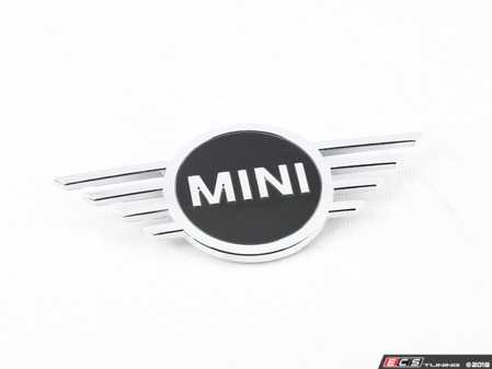 ES#3574422 - 51147481905 - Hood Emblem - Newer Design - Replace that faded or damaged chrome with new - Genuine MINI - MINI