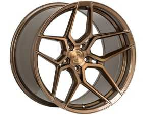 "ES#3677022 - fx1119955112KT5 - 19"" RFX11 Wheels - Set Of Four - 19""x9.5"", ET30, 5x112 - Brushed Bronze - Rohana Wheels - Audi Volkswagen"