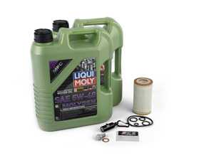 ES#3613163 - 0001802609kt -  Oil Change Kit Liqui Moly Molygen 5w-40 - Everything you need to perform an engine oil service - Liqui-Moly - Mercedes Benz