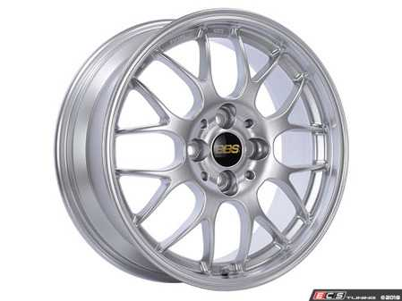 "ES#3613130 - rg712hdskKT - 17"" Style RG 712H DSK Wheels - Square Set Of Four  - 17x7 4x100 ET38 RG in Diamond silver paint. - BBS - MINI"