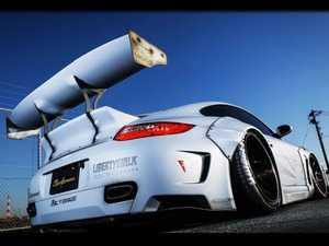 ES#3614137 - LBW997V1FRP - LBWORKS 997 Complete Body Kit Ver.1 - Fiberglass  - Complete fiberglass body kit hand crafted for your Porsche 997 911 - Liberty Walk - Porsche