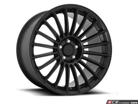 """ES#3988248 - R157208543KT - 20"""" BUC Wheels - Set Of Four - Front 20""""x8.5"""", ET45, 5x112 Rear 20""""x10.5"""", ET45, 5x112 - Matte Black Finish - Rotiform - Mercedes Benz"""