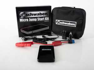 ES#3569208 - 06903sch02aKT - Schwaben Micro Jump Start Kit - Jump start your car, charge your portable device, portable energy whenever you need it. - Schwaben - Audi BMW Volkswagen Mercedes Benz MINI Porsche