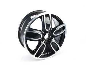 "ES#2915257 - 36116855115 - 509 MINI JCW Wheel 18"" (5x112) Cup Spoke Gloss Turned - Priced Each - 7J X 18 ET:54 - Genuine MINI - MINI"