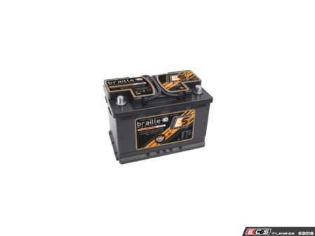 ES#3617617 - B7548 - Endurance Advanced AGM Battery - B7548 - 45lbs - Perfect upgrade to get rid of a troublesome Lead-Acid battery and add both power and reliability at the same time! - Braille - Audi BMW Volkswagen Mercedes Benz Porsche