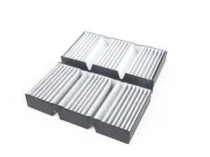 ES#3610566 - 1668307201 - Cabin Air Filter - Set - Passenger compartment filtration - Hengst - Mercedes Benz