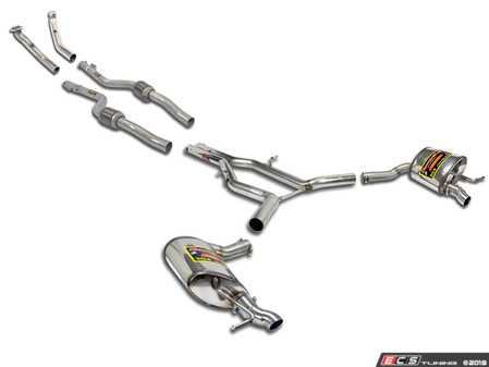 ES#3618246 - 8483KT - Supersprint Turboback Exhaust System - Stainless steel complete exhaust system that retains the factory AMG tips - Supersprint - Mercedes Benz