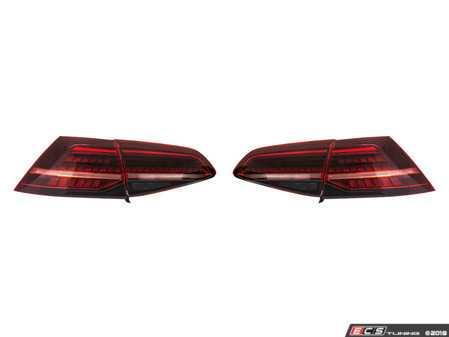ES#3618279 - HVWG7TL-E75 - MK7.5 European LED Dynamic Tail Lights - Complete set of LED tail light assemblies styled after the European MK7.5 GTI LED assemblies - Helix - Volkswagen