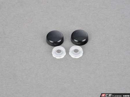ES#3576807 - BPLAAA475 - Painted Bumper Plugs Pair | Painted Cap & Clear Base | Sapphire Black (475) - Bimmian PaintWerke -