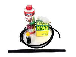 ES#3613182 - 00109204012KT - Fuel System Service Kit - Update your fuel system while changing your fuel filter with this comprehensive kit - Assembled By ECS - Mercedes Benz