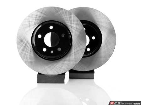 ES#3537737 - 025997ECS0616KT -  Front V4 Brake Rotors - Pair (320x30) - Precision manufactured and featuring an electrostatic rust-inhibiting coating - ECS - Audi
