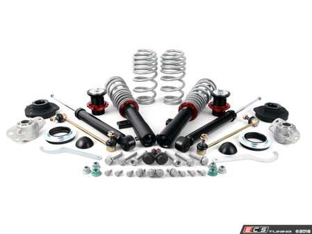 ES#3698717 - 016554ECS02-02KT -  ECS Street Coilover System - With Heavy Duty Installation Kit - Includes ECS HD strut and shock mounts along with all the necessary installation hardware for a complete suspension package! - ECS - Audi Volkswagen