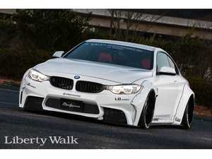 ES#3618745 - LBW4SER - LB Works 4 Series Complete Kit  - Striking good looks and killer stance with one of the most recognizable kits on the market today! - Liberty Walk - BMW