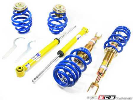 ES#257811 - FKAU68 - Highsport Coilover System - Non Adjustable Dampening - Height adjustable from 10-40mm's. - FK -
