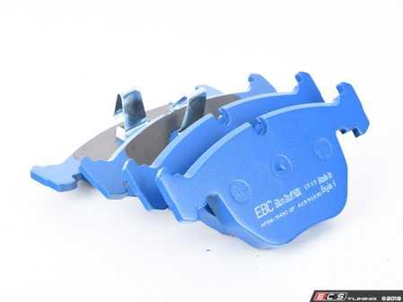 ES#2620314 - DP51036NDX - Front BlueStuff Performance Brake Pad Set - Race inspired performance, NDX formula provides a great initial bite - EBC - BMW