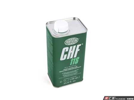 ES#1801 - CHF11S - Hydraulic / Power Steering Fluid - 1 Liter - Synthetic hydraulic / power steering fluid CHF 11S - Pentosin - Audi Volkswagen Mercedes Benz MINI Porsche