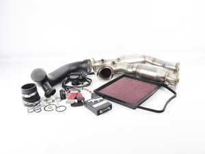 ES#3618109 - e9xn54ppKT2 - Power Pack Stage 2 - A step up from the Stage 1 kit, includes high flow down pipes! - Assembled By ECS - BMW