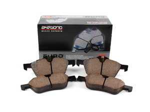 ES#1981467 - 34116770332 - Front Euro Ceramic Brake Pad Set EUR939 - Restore the stopping power in your MINI. With Shims. - Akebono - MINI