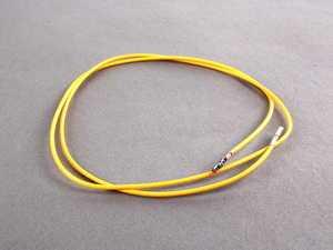 ES#265358 - 000979009EA - Connector Repair Wire - Yellow - Individual repair wire with connecting ends - Genuine Volkswagen Audi - Volkswagen