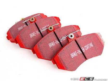ES#520612 - DP3841/2C - Front RedStuff Performance Brake Pad Set - A high performance street pad, featuring Kevlar technology. - EBC - Volkswagen