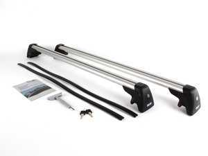 ES#196922 - 82710415050 - Roof Rack Base Bars - Requires roof railing for installation - Genuine BMW - BMW