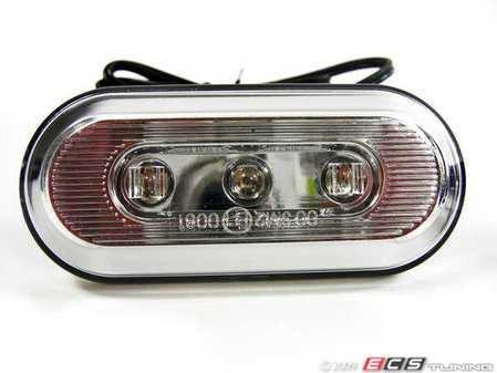 ES#240952 - FKXLSB005 - LED Side Marker Kit - Round / Clear - Clear LED side markers - FK - Volkswagen