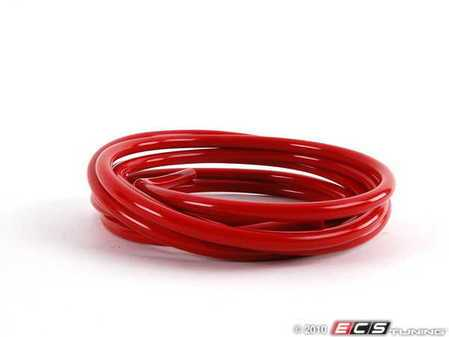 ES#1928263 - vc04r - Silicone Vacuum Hose - Red - 9 Feet - High quality heat resistant tubing that lasts! 4mm - Forge - Audi BMW Volkswagen MINI