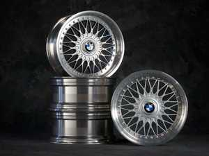 """ES#2162530 - 36110531 - 17"""" Style 5 Cross Spoke Wheel - Square Set Of 4 - Iconic, timeless stying! 17X8"""" ET20 with center caps. - Genuine BMW - BMW"""
