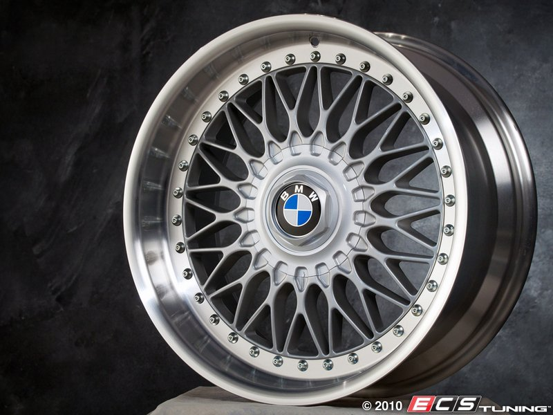 b bmw parts set genuine wheels style es of four rims staggered