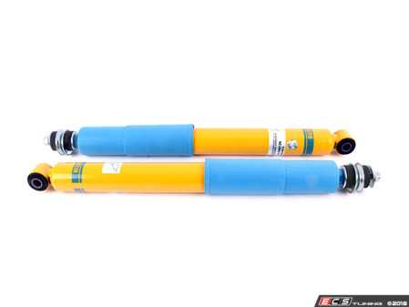 ES#3220409 - 24-008136KT - B6 Performance Rear Shock - Pair - Unbelievable control, precise handling, ultimate performance and incredible comfort. German-made with world-famous Bilstein quality and a limited lifetime warranty! - Bilstein - BMW
