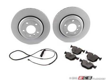 ES#2083464 - E463421-4 - E46 Rear RPS Kit - Includes all the parts necessary to complete a rear brake service in a Saturday afternoon - Assembled By ECS -