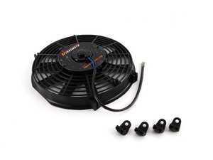 "ES#2764825 - MMFAN10 - Universal 10"" Electric Fan - Black - 850 CFM - 5.1 amps at 12.3 volts - Mishimoto - Audi BMW Volkswagen MINI"