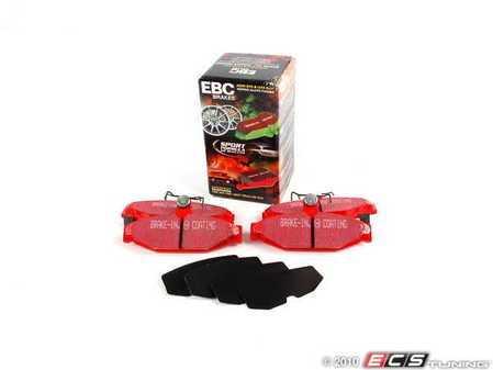 ES#520258 - DP31167C - EBC Redstuff Ceramic Pad - Chevrolet/Pontiac - Rear - EBC -